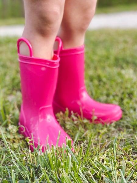Penny Pink Rain Boots | Kids 4-8