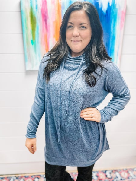 Megan | Ultra Soft Spring Funnel Tunic