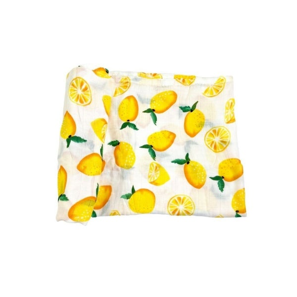 Love, Izzy Swaddle - Lemon Dreams   -  Buy one,  We donate to the NICU!
