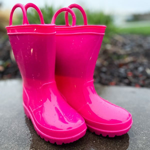 Penny Pink Rain Boots | Kids 4-8