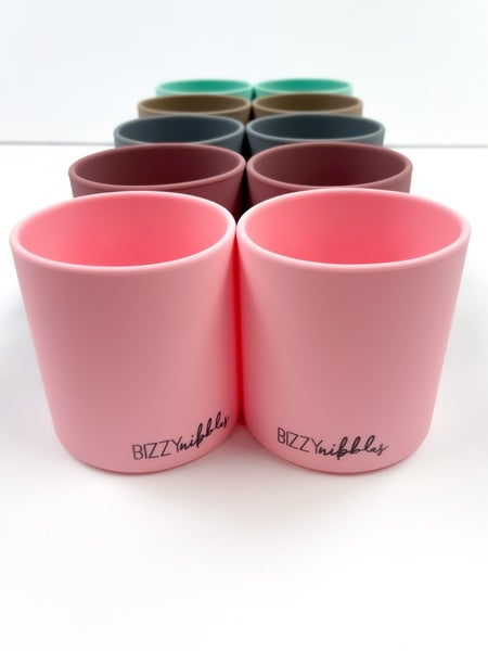 2 Pack- Dinnerware Silicone Cups *Final Sale*