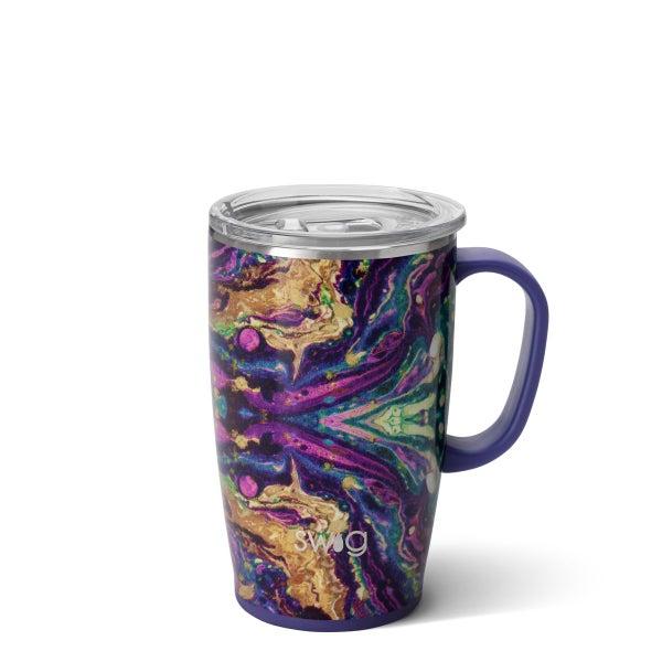 Swig Purple Rain 18oz Premium Travel Mug
