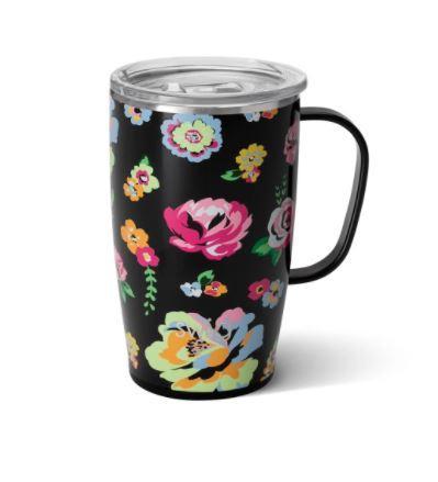 Fleur de Noir 18oz Swig Mug
