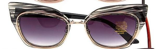 Black & White Gradient Retro Framed Stylish Sunglasses