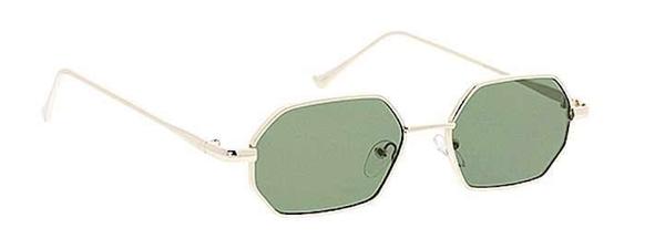 Rose Gold Modern Style Shaped Sunglasses