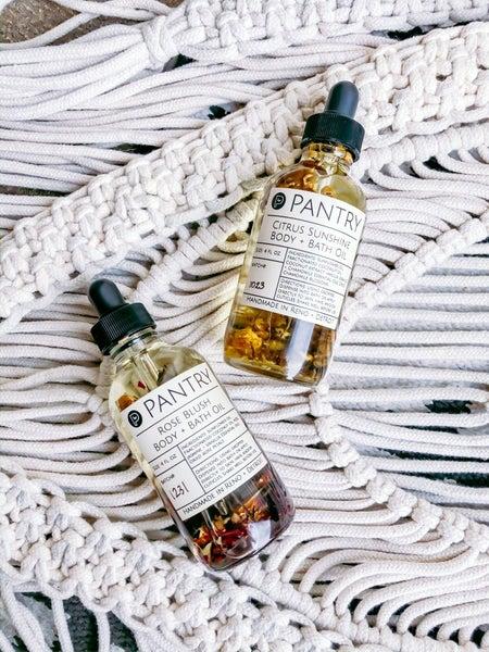 Rose Blush Natural Body + Bath Oil