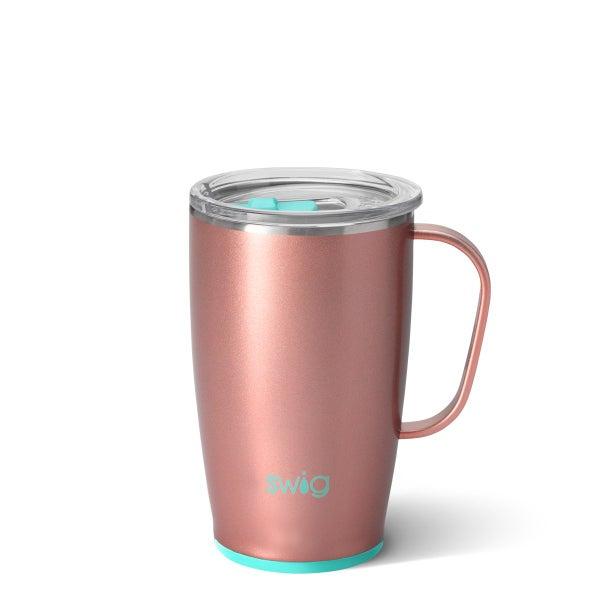 Rose Gold 18oz Swig Tumbler Mug
