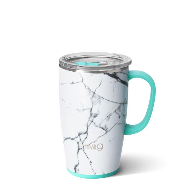 Marble Slab 18oz Swig Tumbler Mug