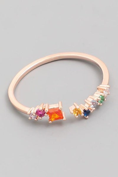 Delicate Jewelry Fashion Ring - Rose Gold