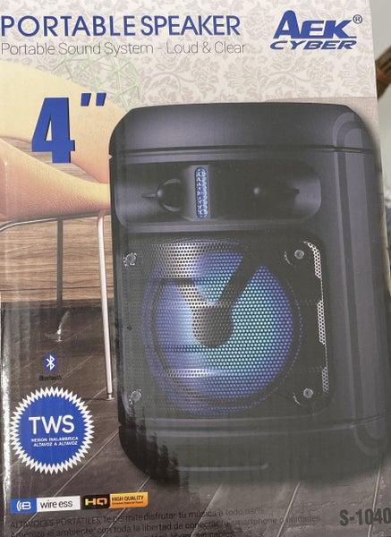 Portable Speaker Sound System & Movie Watching Device!