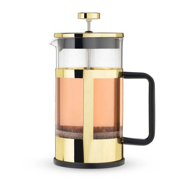 Gold Tea & Coffee French Press Pot