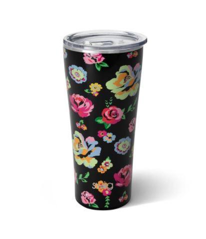 Fleur de Noir Swig Premium 32oz Tumbler