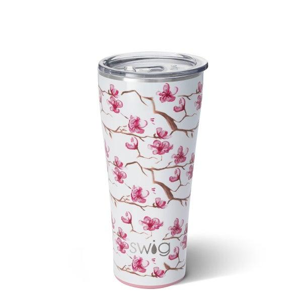 Swig Cherry Blossom 32 oz Premium Tumbler