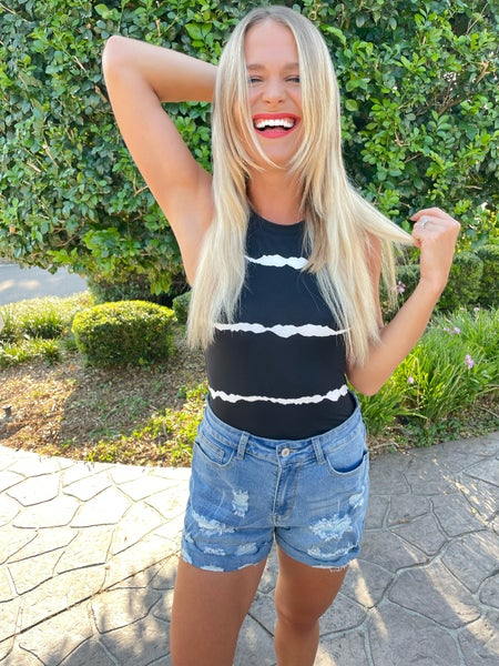 Vintage Faded Distressed Jean Shorts