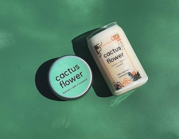 Cactus Flower   Cactus + Jade + Coconut   100% Soy Wax