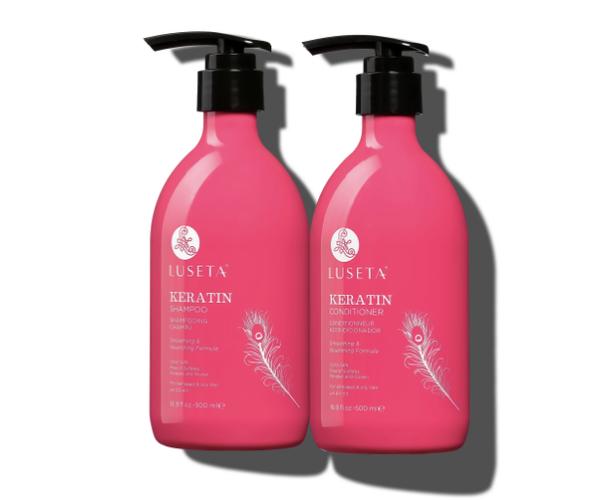 Keratin Bundle - Keratin Smooth Shampoo & Conditioner