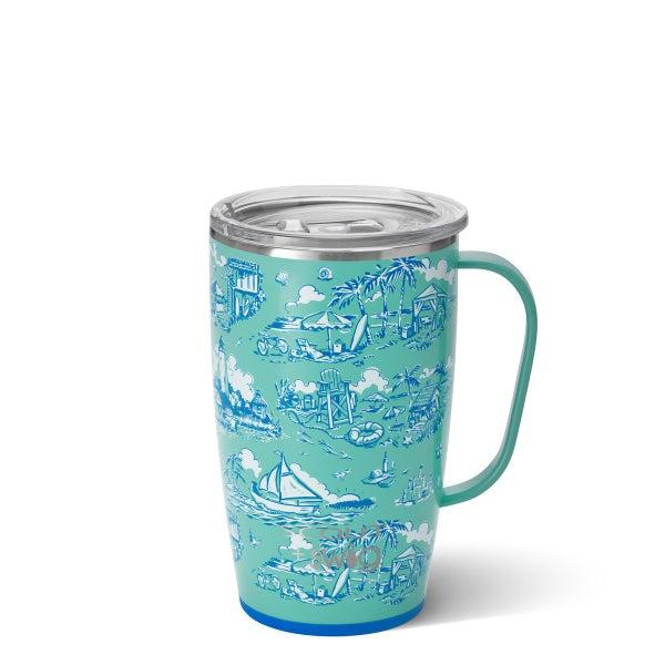 Swig Coastal Rica 18 oz Swig Mug