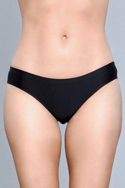 Black Seamless Full Coverage Panty Underwear
