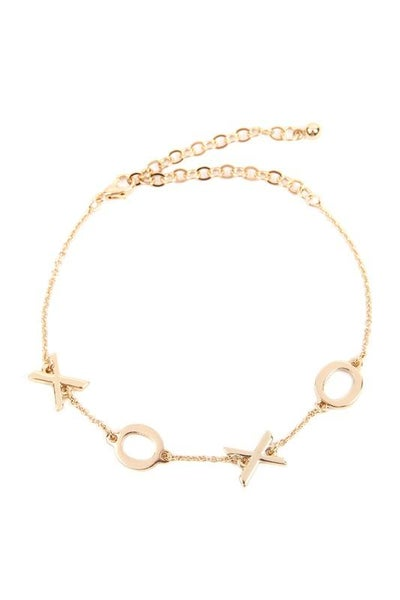 XOXO Gold Dainty Bracelet