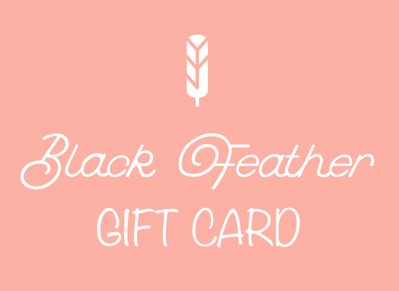 Black Feather Gift Card