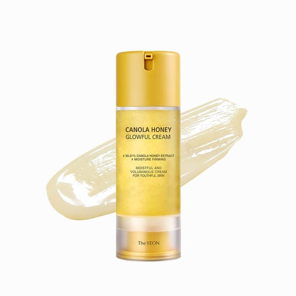 Jeju Canola Flower Honey Moisturizing Facial Cream