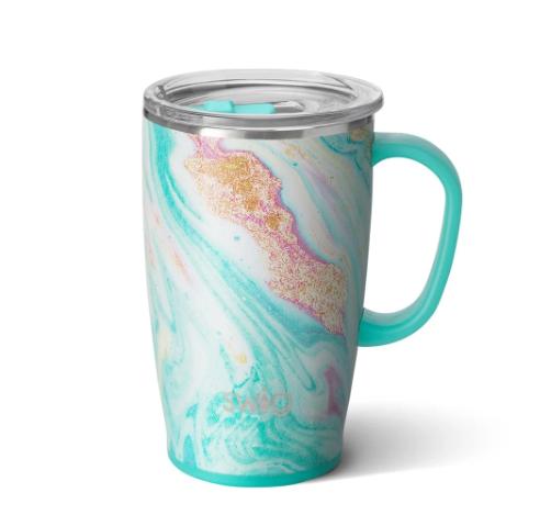 Wanderlust Swig 18oz Premium Mug