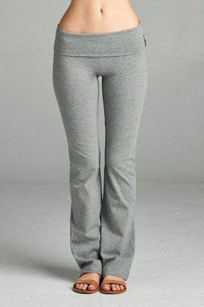 ♀️ Namasté Yoga Pants - Grey ♀️