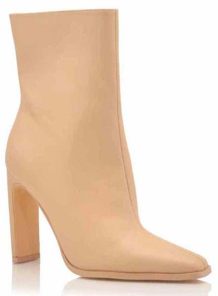 Nude Chic Ankle Booties