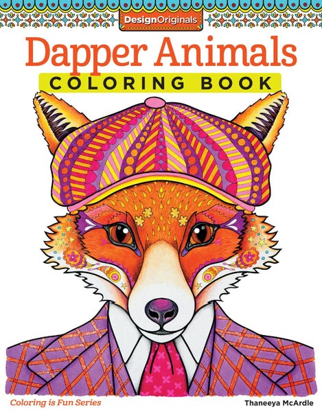 Dapper Animals Coloring Book