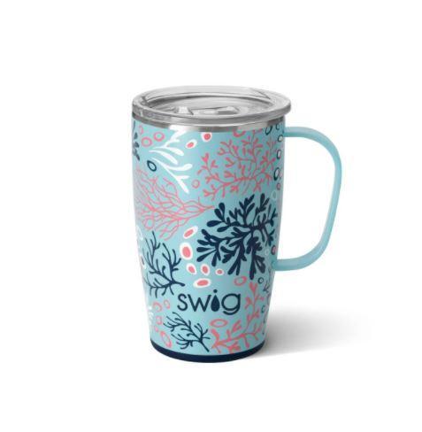 Coral Me Crazy 18 oz Swig Mug