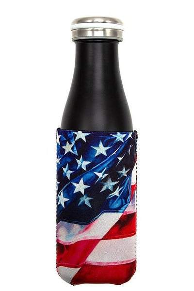 Americana Bottle Coozie Cooler