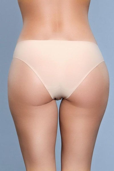 Nude Seamless Full Coverage Panty Underwear