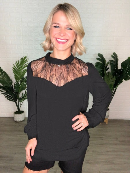 Black Romantic Sweetheart Cut Couture Top
