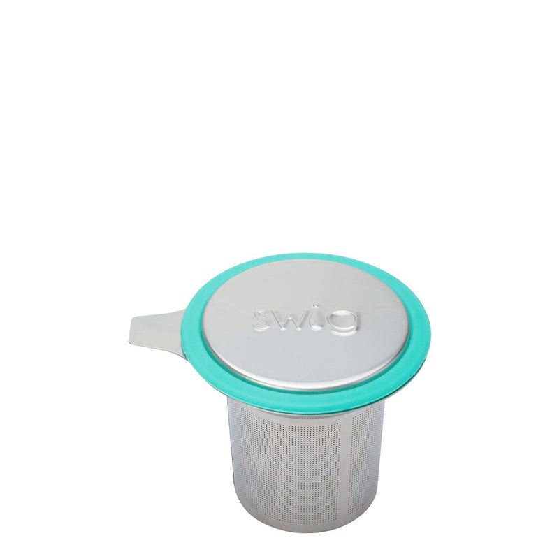Swig Stainless Steel Tea Infuser + Convertible Cover Coaster