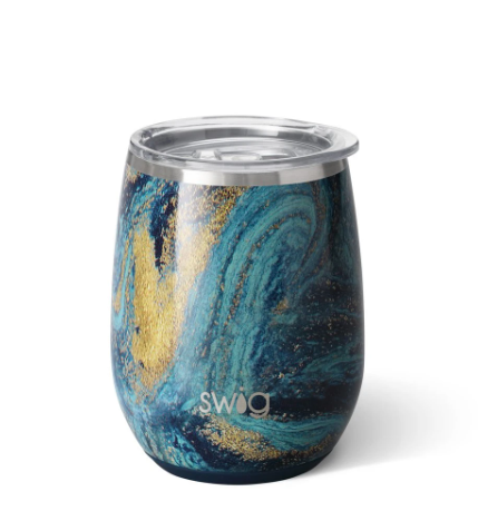 Starry Night Stemless Wine Cup 14 oz