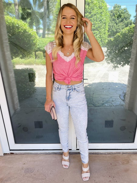 Judy Blue Ultra Light Acid Wash Slim Fit Stretchy Jeans