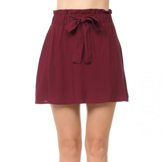 Seize The Day Paper Bag Skirt