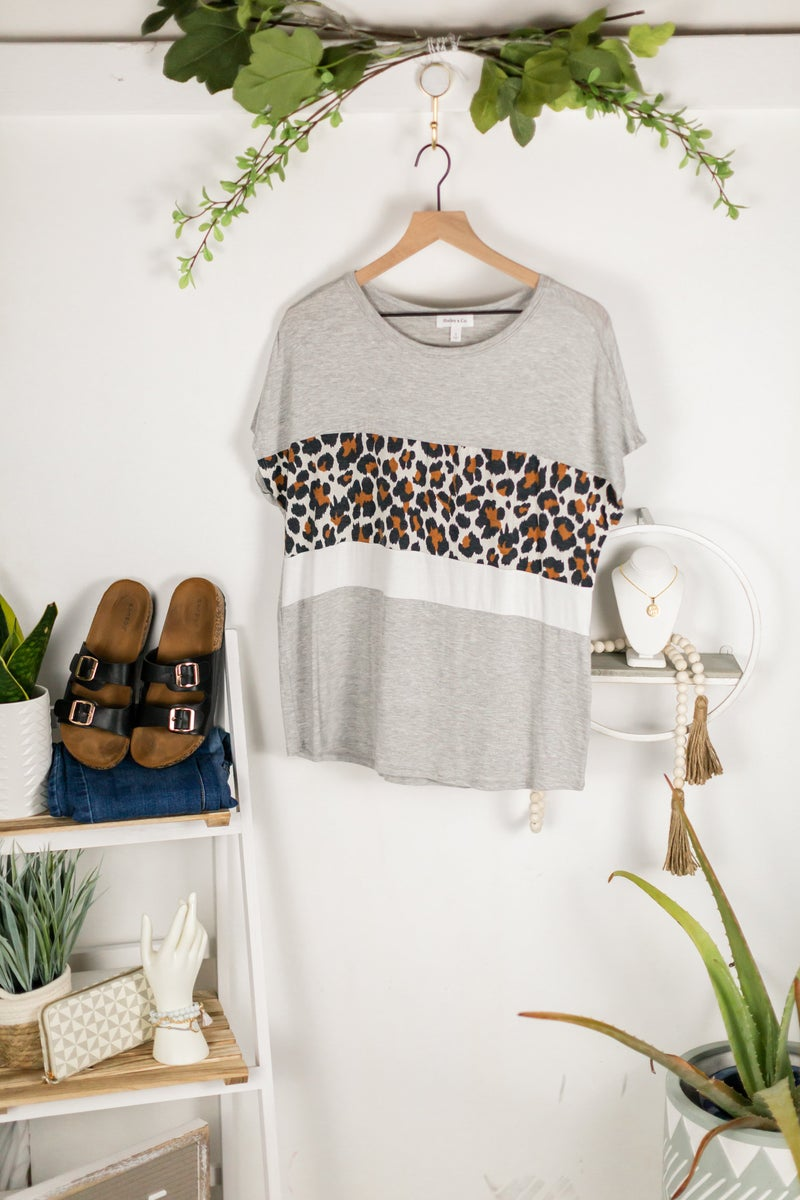 Wild Layers Tee by Hailey and Co.