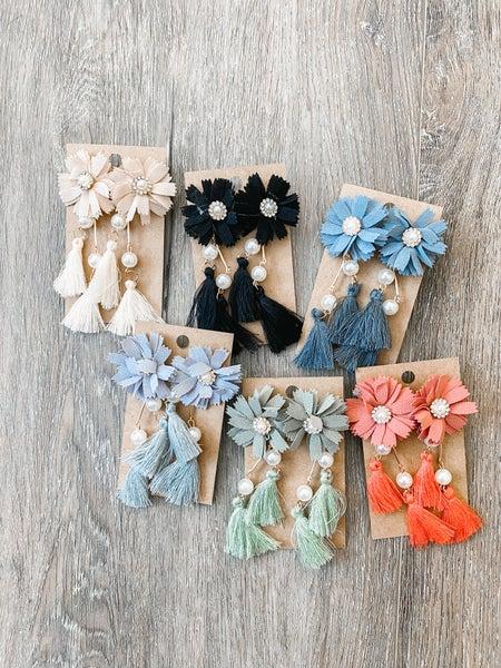 Happiest Floral Earrings