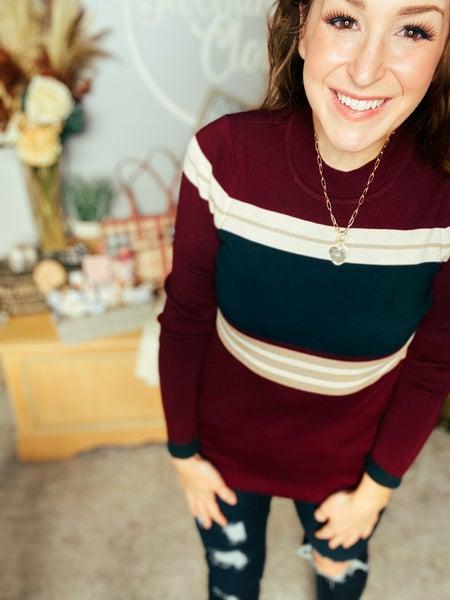 Stripes So Fun Sweater