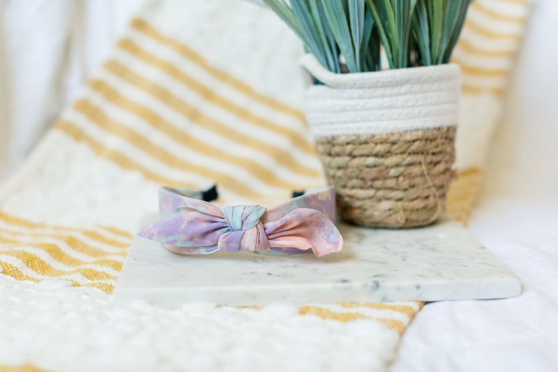 Tie Dye and Sunshine Headband