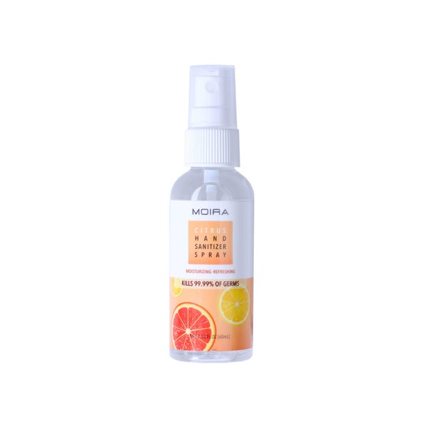 Citrus Hand Sanitizer Spray by Moira Cosmetics