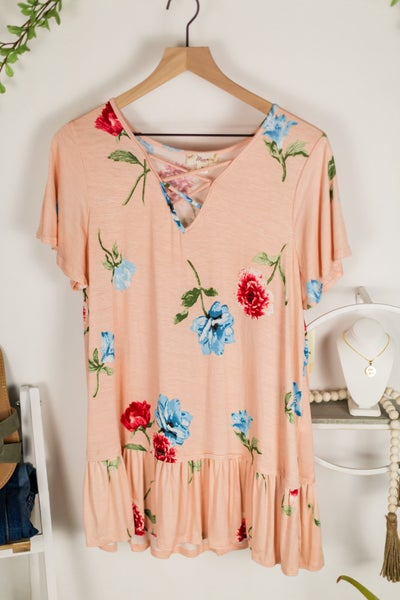 Giving Time Floral Tee by Misia