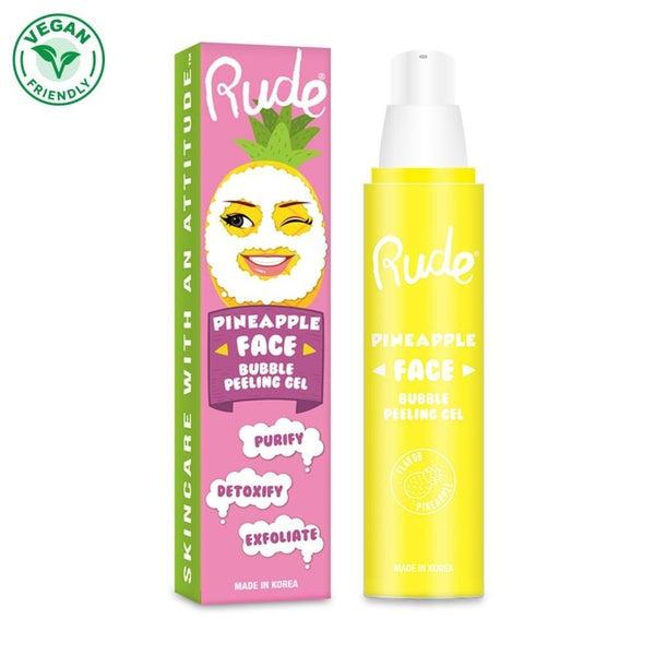 Rude - Pineapple Face Bubble Peeling Gel Mask