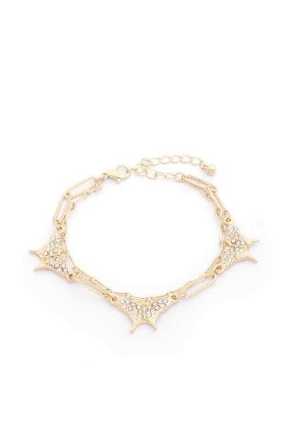 Dewy Morning Butterfly Bracelet