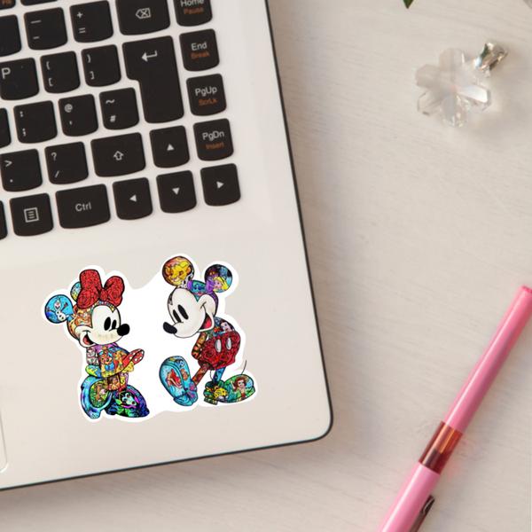 Cartoon Mouse Sticker