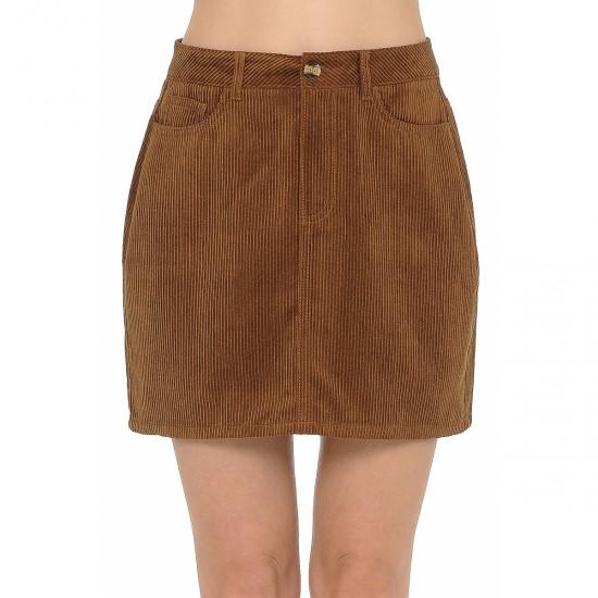 Corded Up Right Skirt