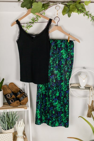 Enjoy the Day Midi Skirt by Timing
