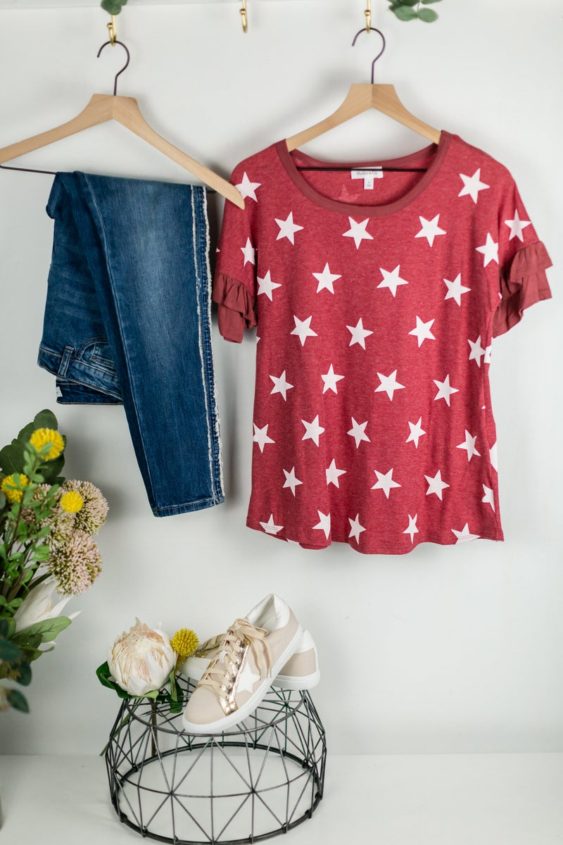 Stars For Days Tee by Hailey & Co.