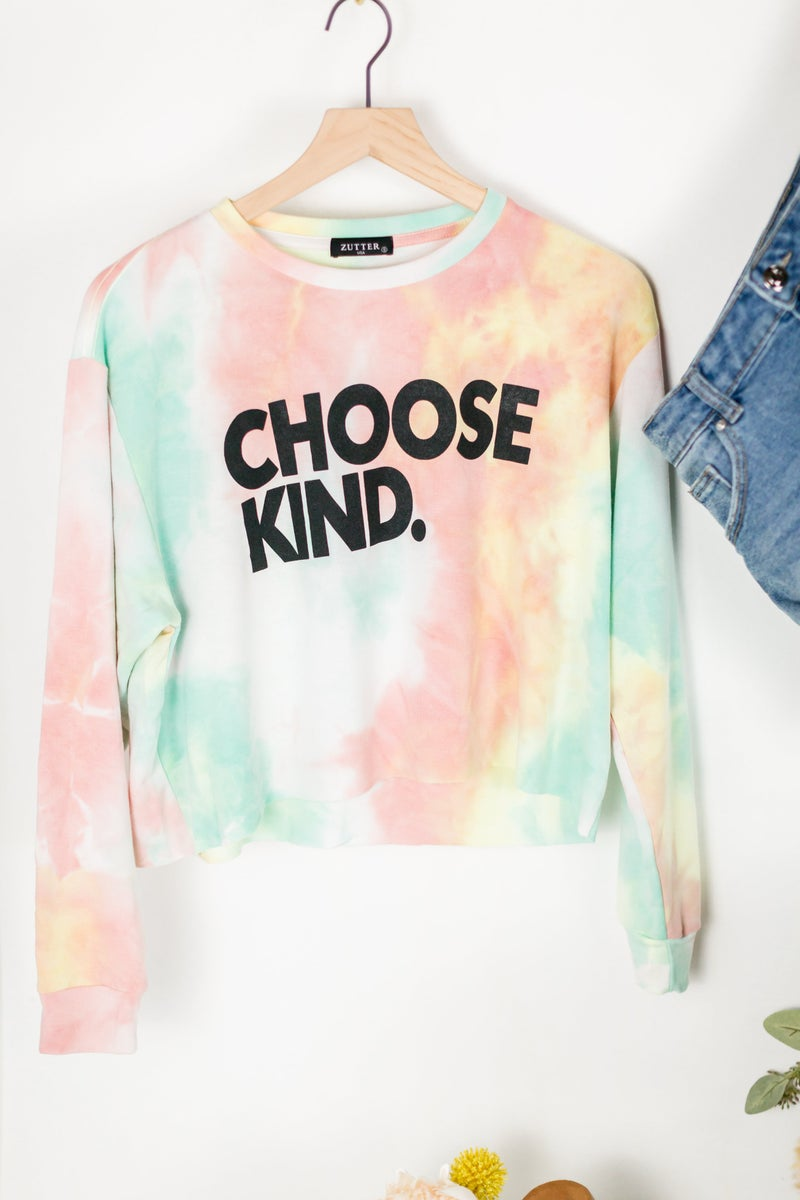 Choose Kind Pullover by Zutter